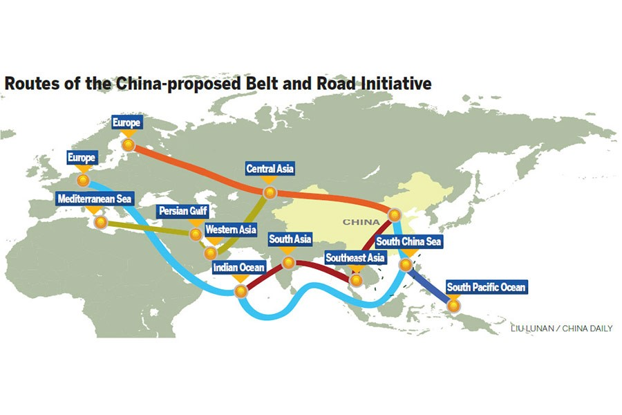 Belt and road initiative singapore